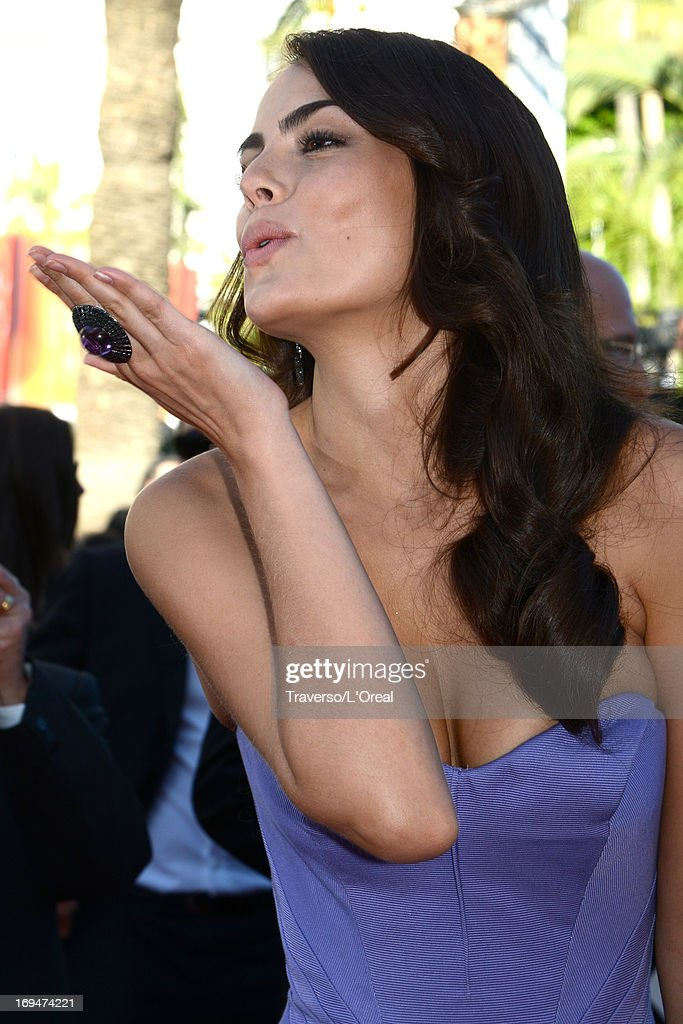 Ximena Navarrete attends the 'La Venus A La Fourrure' premiere during The 66th Annual Cannes Film Festival at the Palais des Festivals on May 25, 2013 in Cannes, France.
