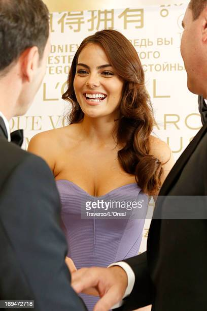 Ximena Navarrete attends the L'Oreal Cocktail Reception during The 66th Cannes Film Festival on May 25 2013 in Cannes France