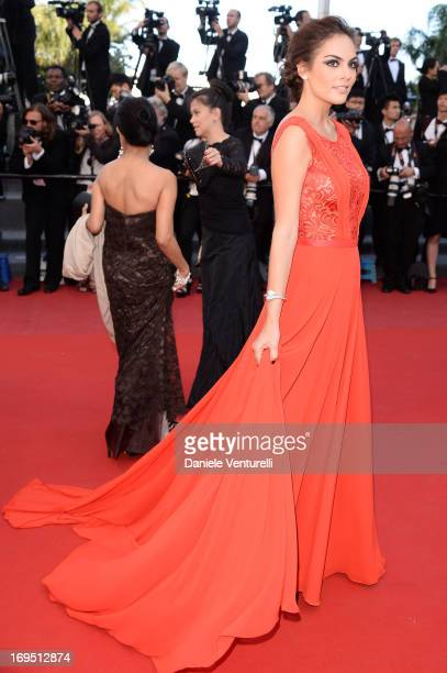 Ximena Navarrete attends the Premiere of 'Zulu' and the Closing Ceremony of The 66th Annual Cannes Film Festival at Palais des Festivals on May 26...