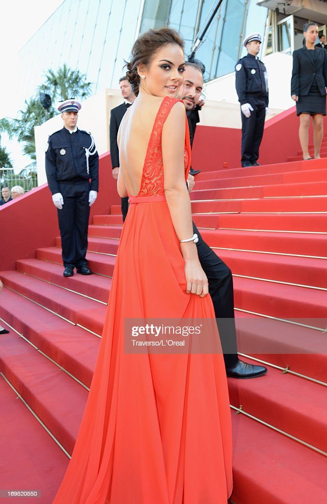 Ximena Navarrete attends the 'Zulu' Premiere and Closing Ceremony during the 66th Annual Cannes Film Festival at the Palais des Festivals on May 26, 2013 in Cannes, France.