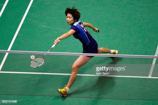 Xin WANG Simple Femme Finales des Championnats du Monde de Badminton 2010 Stade Pierre de Coubertin Paris