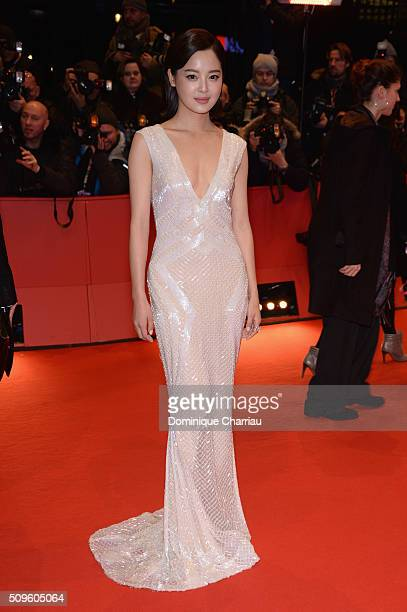 Xin Zhi Lei attends the 'Hail Caesar' premiere during the 66th Berlinale International Film Festival Berlin at Berlinale Palace on February 11 2016...