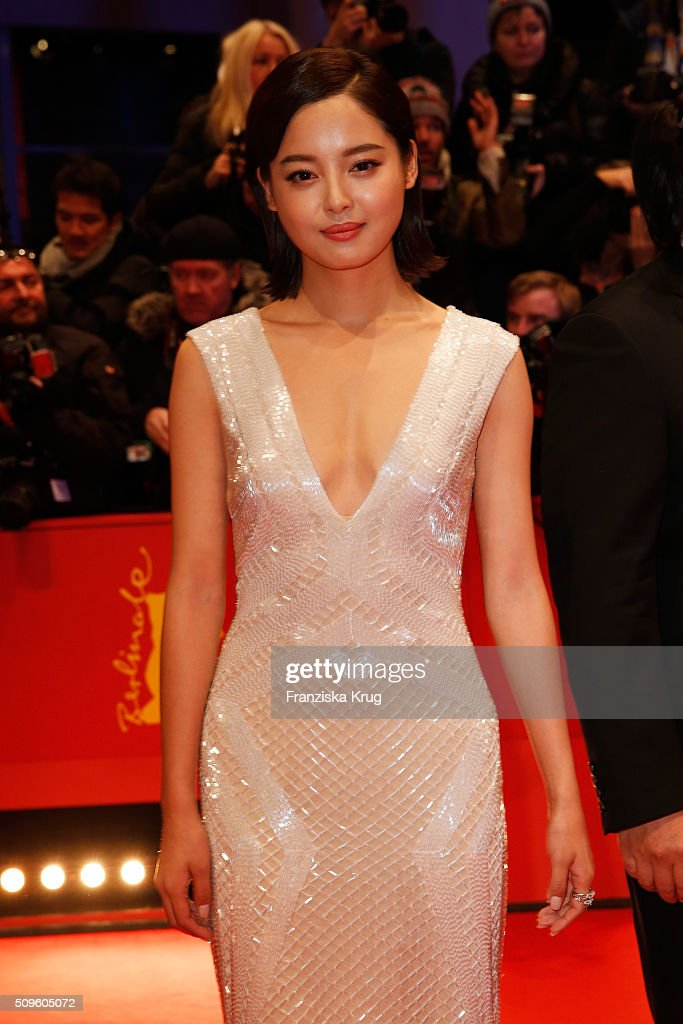 Xin Zhi Lei attends the 'Hail, Caesar!' premiere during the 66th Berlinale International Film Festival Berlin at Berlinale Palace on February 11, 2016 in Berlin, Germany.
