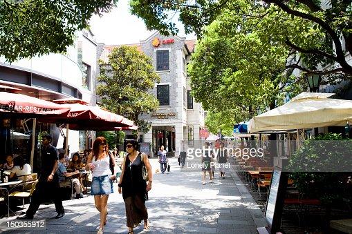 Xintiandi, French Concession. : Stock Photo