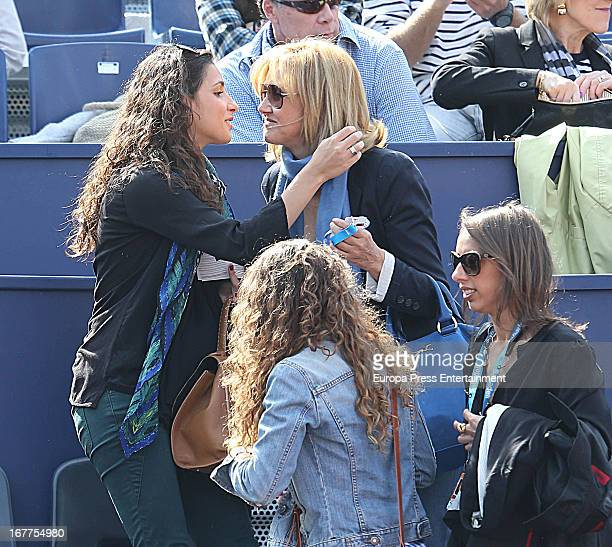 Xisca Perello and Ana Maria Perera Conde Godo Tennis Tournament on April 28 2013 in Barcelona Spain