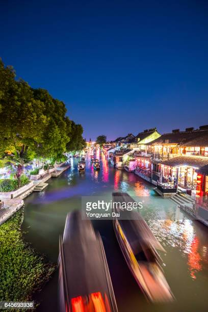 Xitang Watertown at Dusk