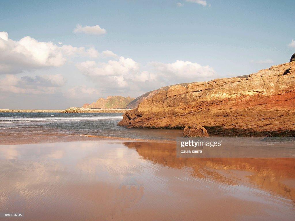 Xivares' beach : Stock Photo