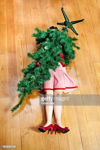 Weihnachten Unfall