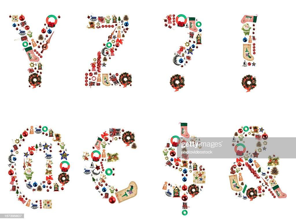 XXL Xmas Alphabet