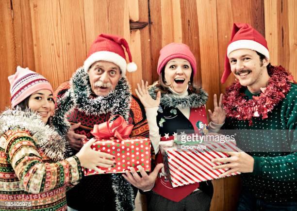Weihnachten-Porträt von kitsch