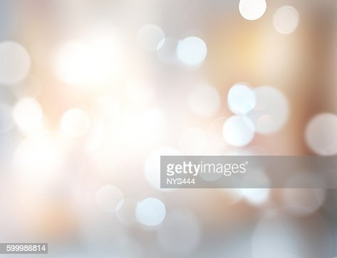 Xmas new year winter blurred lights illustration background. : Stock Photo