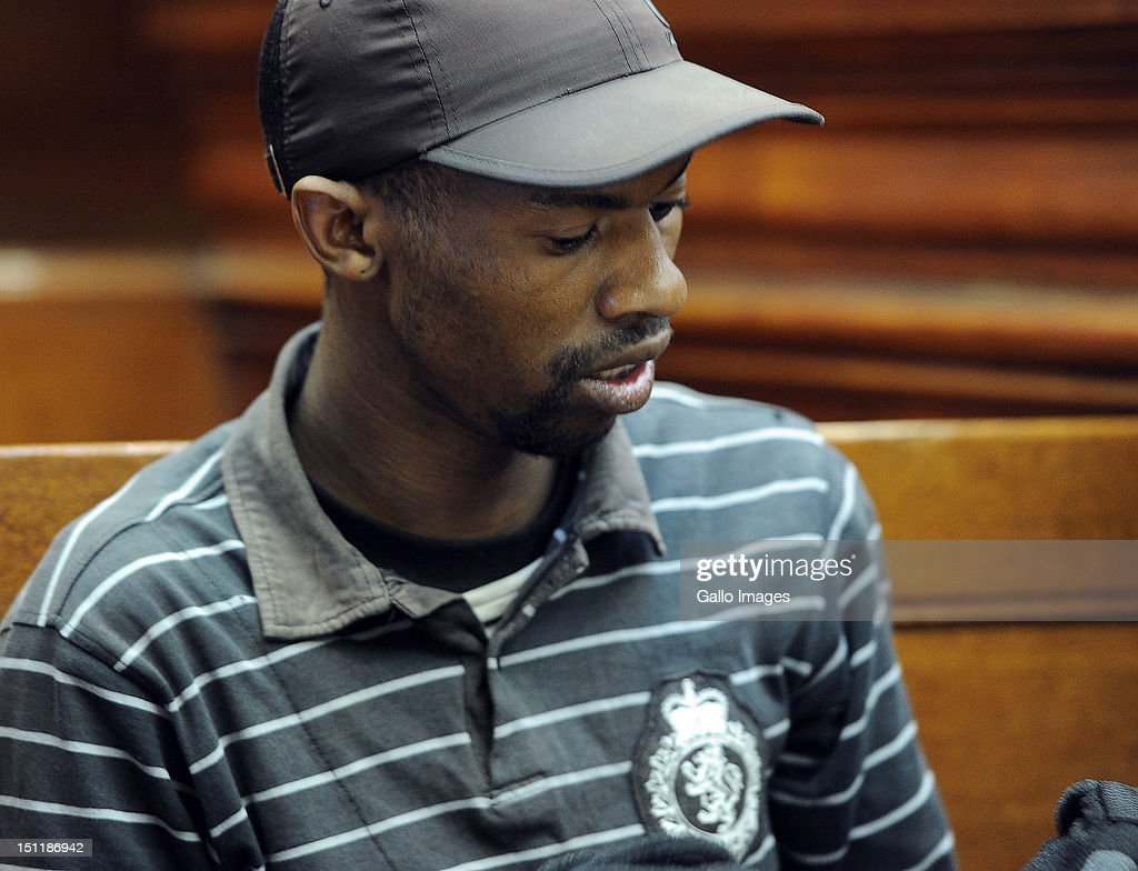Xolile Mngeni appears at the Cape Town High Court, on September 3, 2012 in Cape Town, South Africa. He is accused of being involved in the murder of Anni Dewani, who was murdered whilst on honeymoon in South Africa. The deceased's husband Shrien Dewani remains in Britain fighting extradition as he faces accusations of allegedly plotting her murder.