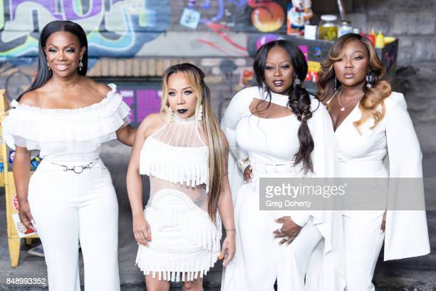 Xscape arrive for VH1's Hip Hop Honors The 90's Game Changers at Paramount Studios on September 17 2017 in Hollywood California