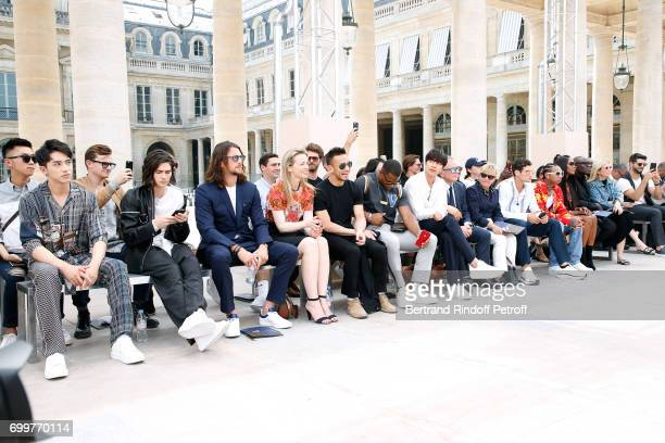 Xu Weizhou Will Peltz Ben Robson Louis Vuitton's executive vice president Delphine Arnault Hidetoshi Nakata Victor Cruz Gong Yoo Chief Executive...