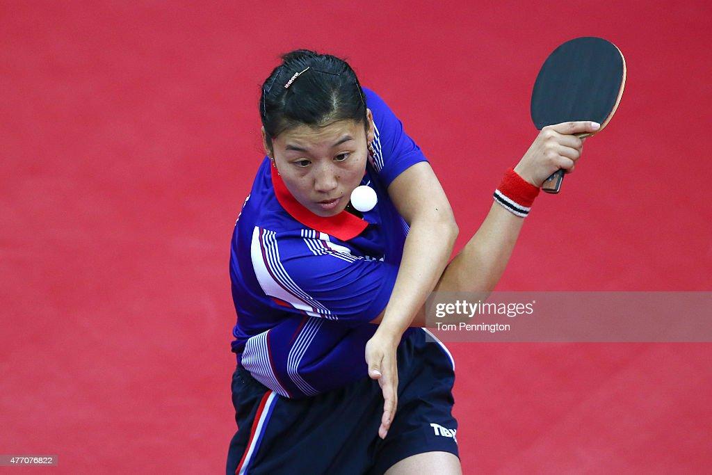 Table Tennis Day 2: Baku 2015 - 1st European Games