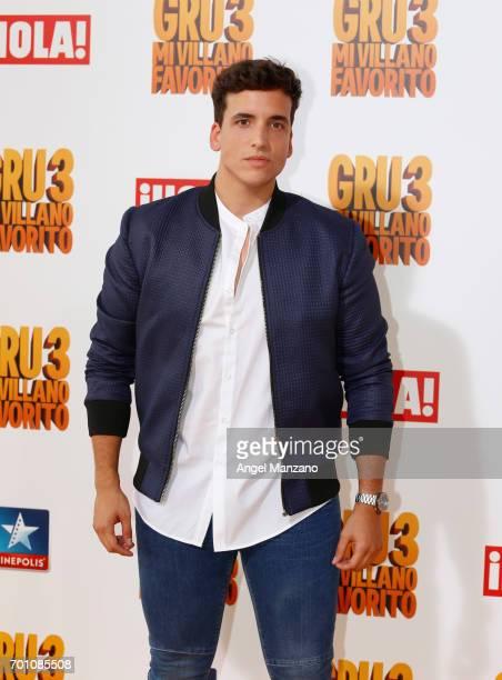 Xuso Jones attends the 'Despicable Me 3' premiere at Kinepolis cinema on June 22 2017 in Madrid SPAIN