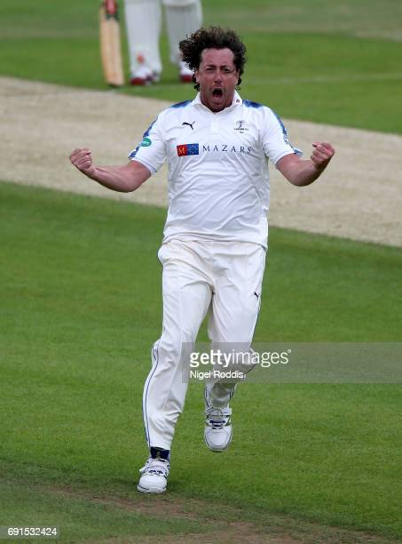 xxxx of Yorkshire in action during Day One of the Specsavers County Championship Division One match between Yorkshire and Lancashire at Headingley on...