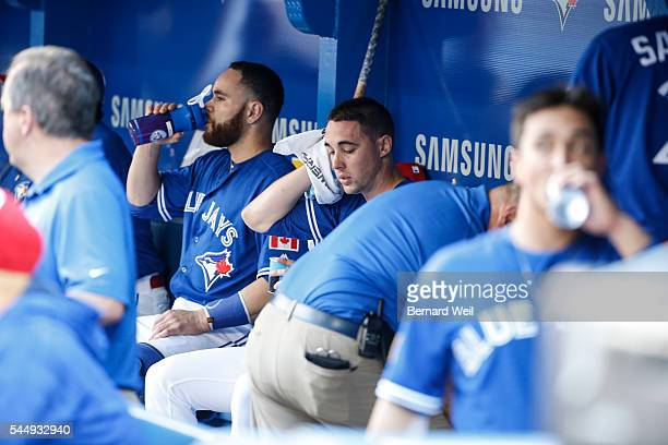 BURLINGTON ON JULY 4 xxxxxx The Toronto Blue Jays hosted the Baltimore Orioles at the Rogers Centre in Toronto July 4 2016