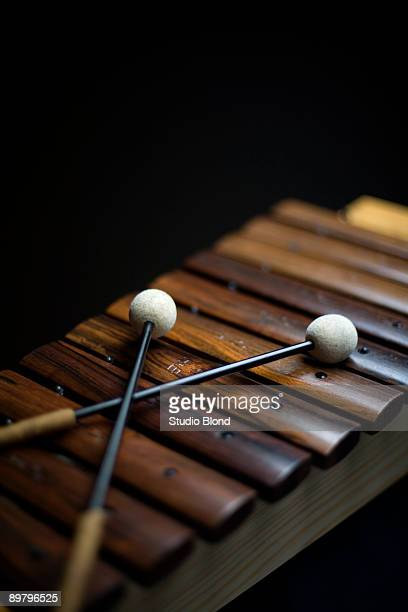 A xylophone