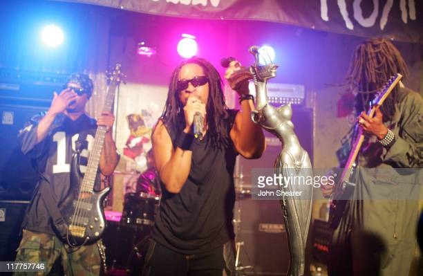 Xzibit David Banner Lil Jon and Snoop Dogg during KORN 'Twisted Transistor' Video Shoot featuring Snoop Dogg Lil Jon Xzibit and David Banner in Los...
