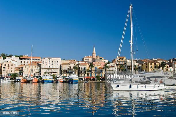Yacht in Harbour, Calvi, Corsica