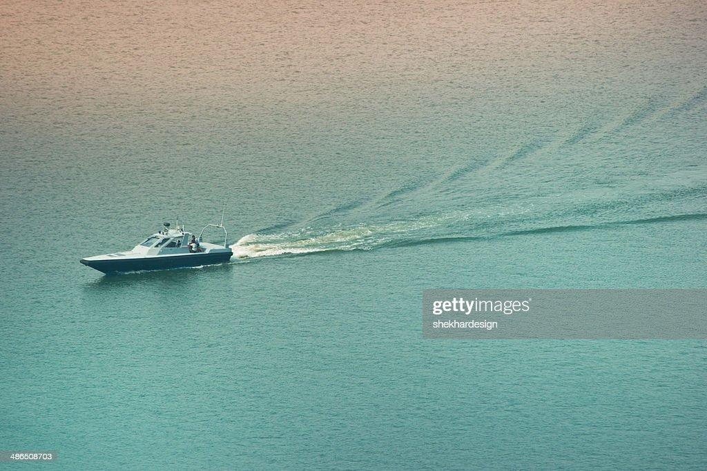 Yacht in sea