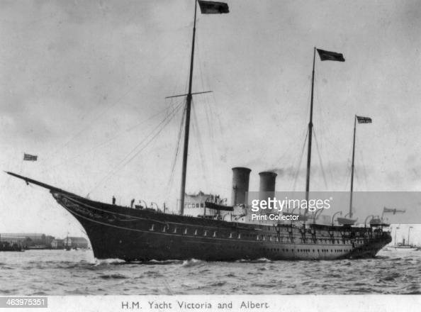 yacht victoria  albert  pictures getty images