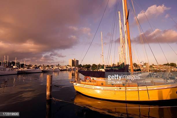Yachts at Dock