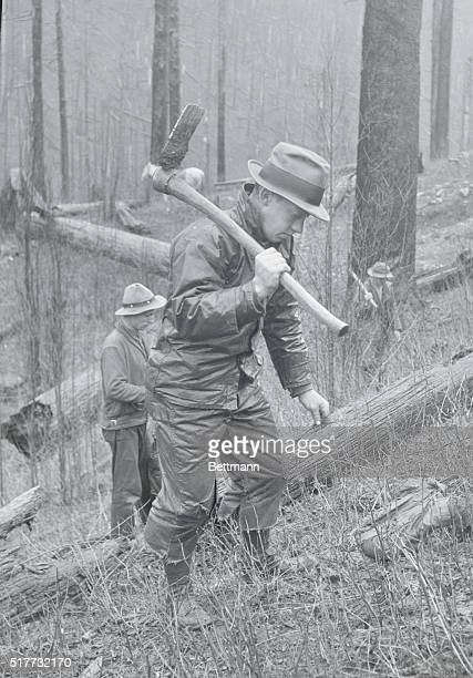 Men Planting Trees How President Roosevelt's Restoration Program Is Being carried Out One of the one hundred and fifty men who have been recruited in...