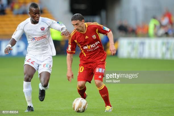 Yacouba SYLLA / Julien TOUDIC Lens / Clermont Coupe de la Ligue 2011/2012