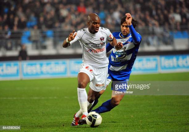 Yacouba SYLLA / MARCOS Troyes / Clermont 29e journee Ligue 2 Photo Dave Winter / Icon Sport