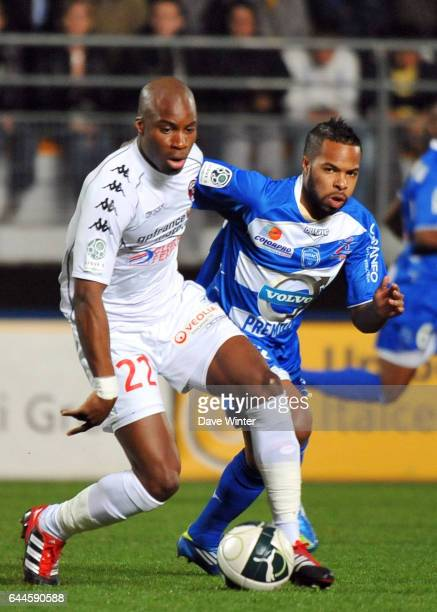 Yacouba SYLLA / Quentin OTHON Troyes / Clermont Foot 29eme journee de Ligue 2 Photo Dave Winter / Icon Sport