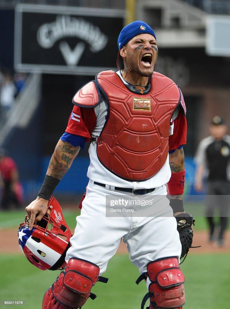 World Baseball Classic - Pool F - Game 1 - Dominican Republic v Puerto Rico