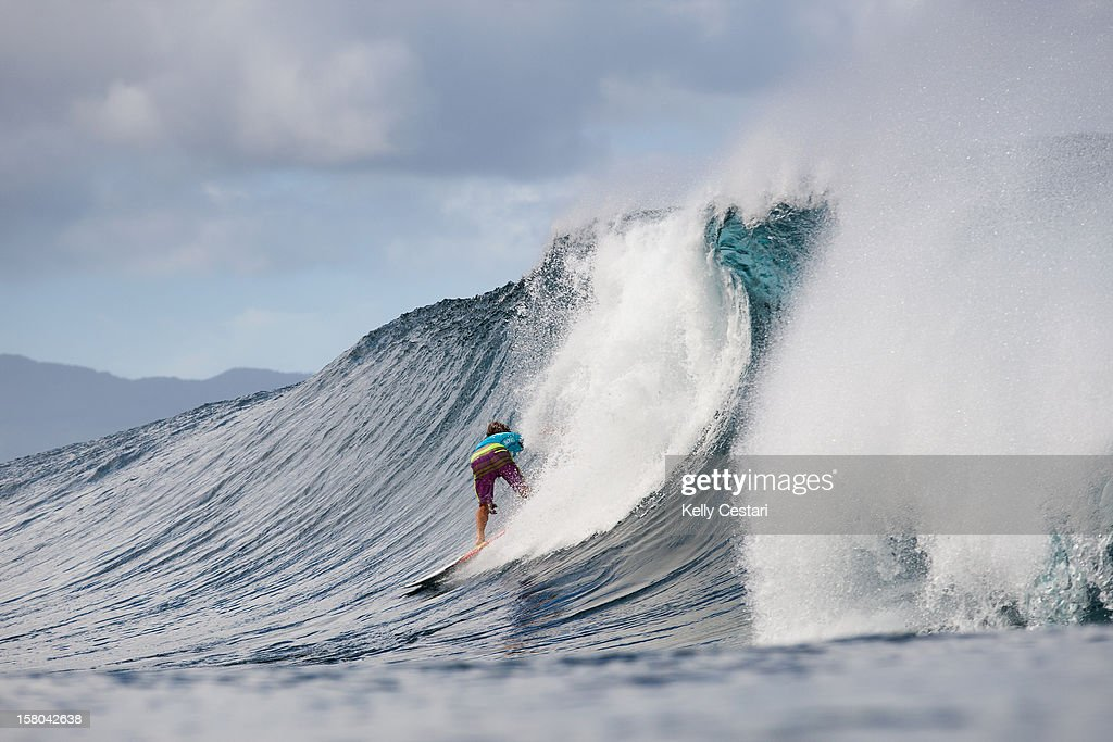 Yadin Nicol of Australia advanced into Round 4 of the Billabong Pipe Masters in Memory of Andy Irons at Pipeline on December 9, 2012 in North Shore, United States.