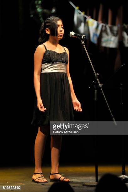 Yadira attends The East Harlem School presents 2010 Spring Poetry Slam at Highline Ballroom on May 4 2010 in New York City