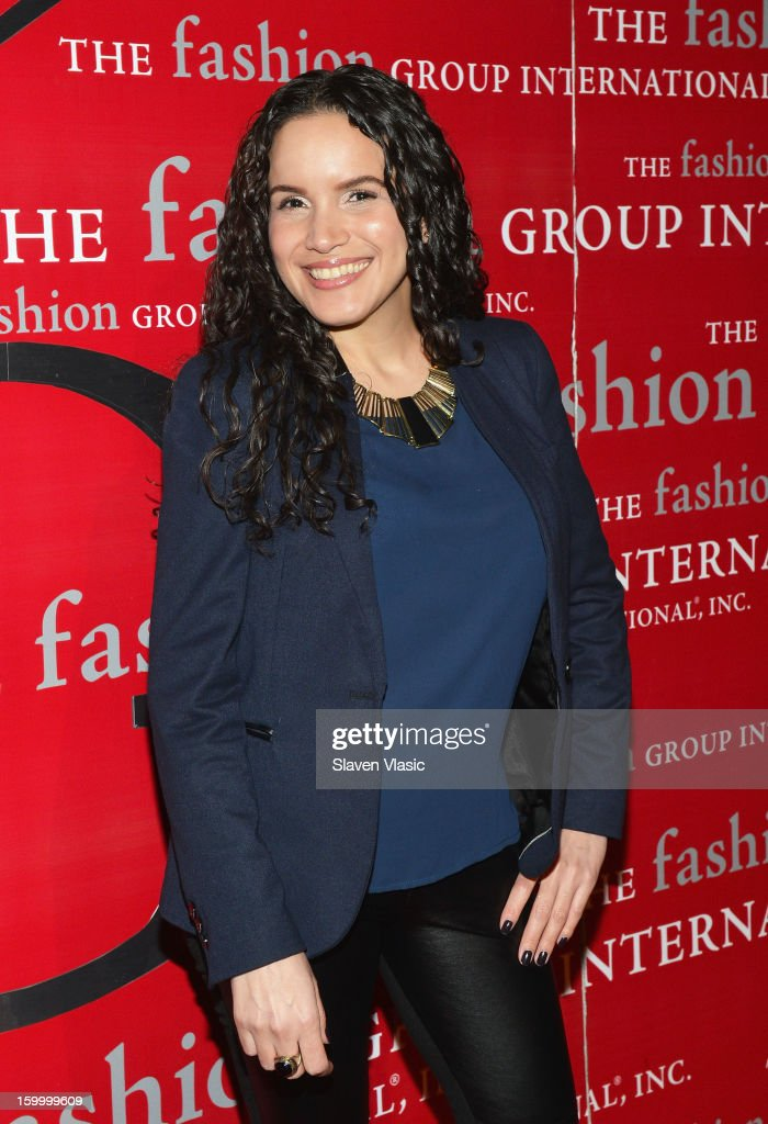 Yadira Perez attends the 15th annual Fashion Group International Rising Star at Cipriani 42nd Street on January 24, 2013 in New York City.