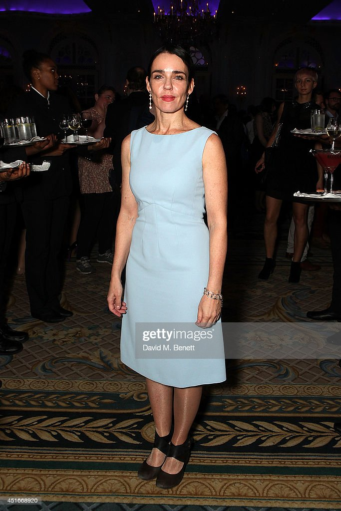 Yael Farber attends an after party following the press night performance of 'The Crucible' at The Savoy Hotel on July 3, 2014 in London, England.