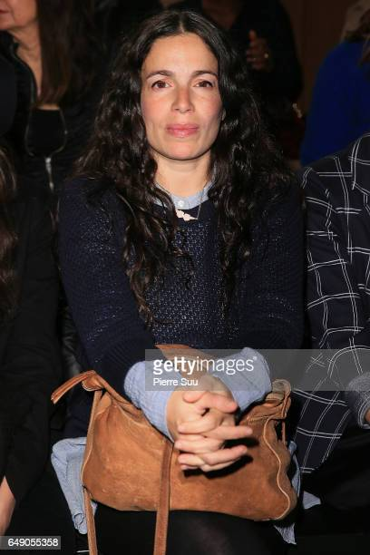 Yael Naim attends the Agnes B show as part of the Paris Fashion Week Womenswear Fall/Winter 2017/2018 on March 7 2017 in Paris France