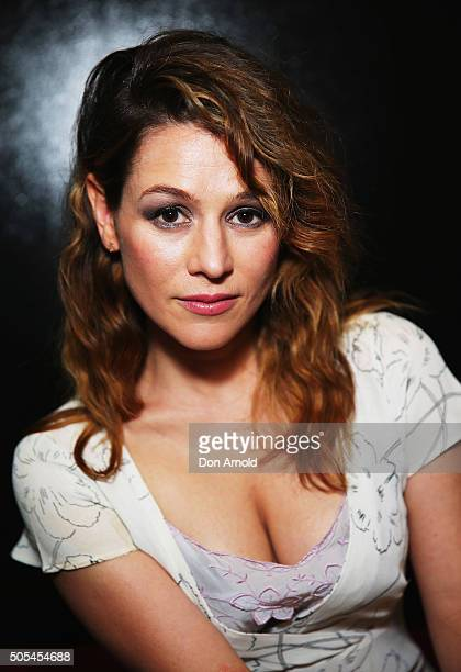 Yael Stone arrives ahead of the 2015 Sydney Theatre Awards on January 18 2016 in Sydney Australia