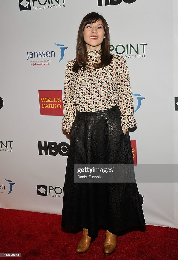 Yael Stone attends the 2014 Point Honors New York gala at New York Public Library on April 7, 2014 in New York City.