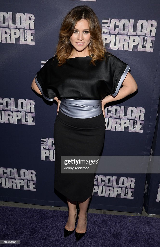"""""""The Color Purple"""" Broadway Opening Night - Arrivals And Curtain Call"""