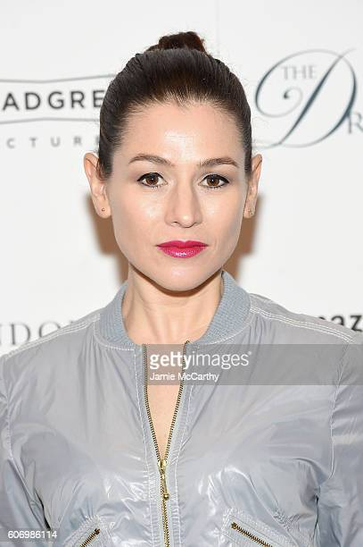 Yael Stone attends 'The Dressmaker' New York Screening at Florence Gould Hall Theater on September 16 2016 in New York City