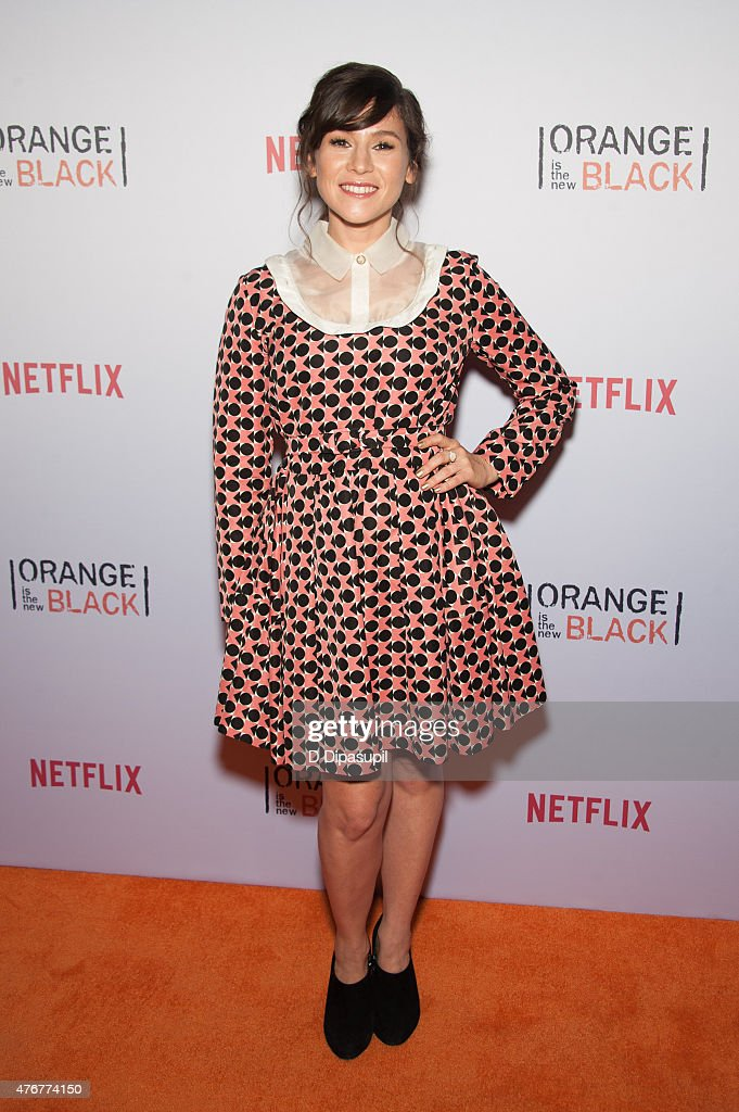 Yael Stone attends the 'Orangecon' Fan Event at Skylight Clarkson SQ. on June 11, 2015 in New York City.