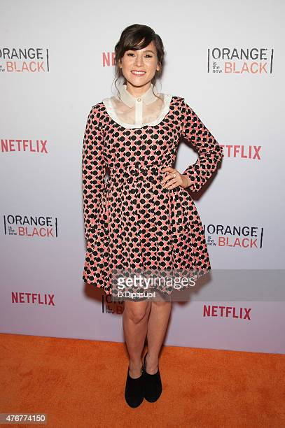 Yael Stone attends the 'Orangecon' Fan Event at Skylight Clarkson SQ on June 11 2015 in New York City