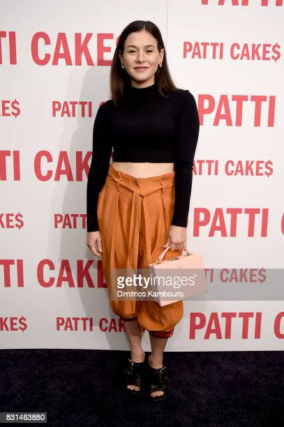 Yael Stone attends the 'Patti Cake$' New York Premiere at The Metrograph on August 14 2017 in New York City