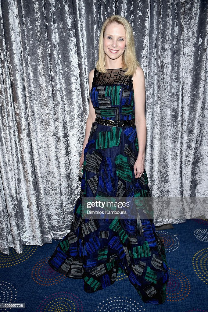 Yahoo CEO Marissa Mayer attends the Yahoo News/ABC News White House Correspondents' Dinner Pre-Party at Washington Hilton on April 30, 2016 in Washington, DC.