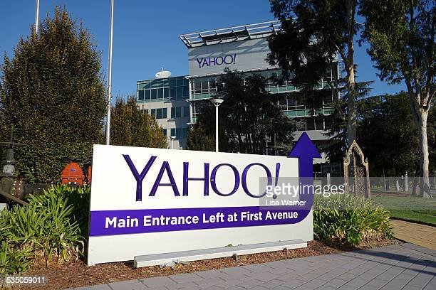Yahoo corporate offices and headquarters in Sunnyvale California
