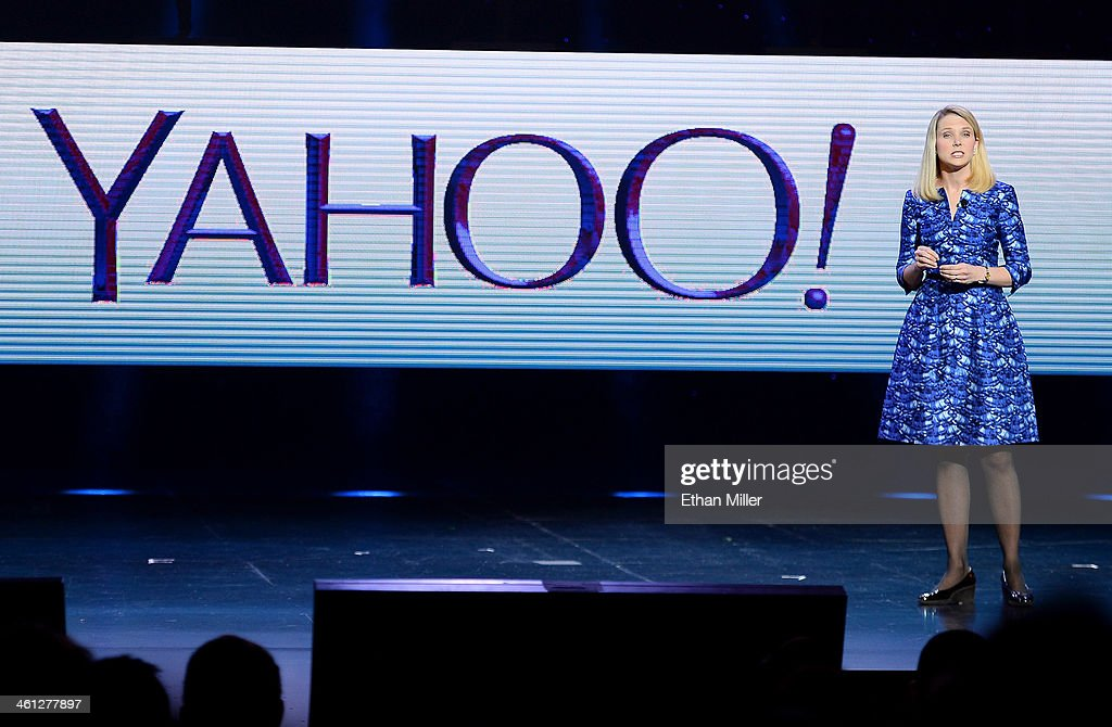 Yahoo! President and CEO Marissa Mayer delivers a keynote address at the 2014 International CES at The Las Vegas Hotel & Casino on January 7, 2014 in Las Vegas, Nevada. CES, the world's largest annual consumer technology trade show, runs through January 10 and is expected to feature 3,200 exhibitors showing off their latest products and services to about 150,000 attendees.