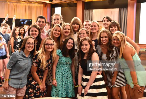 Yahoo Taping With Taylor Swift on August 18 2014 in New York City