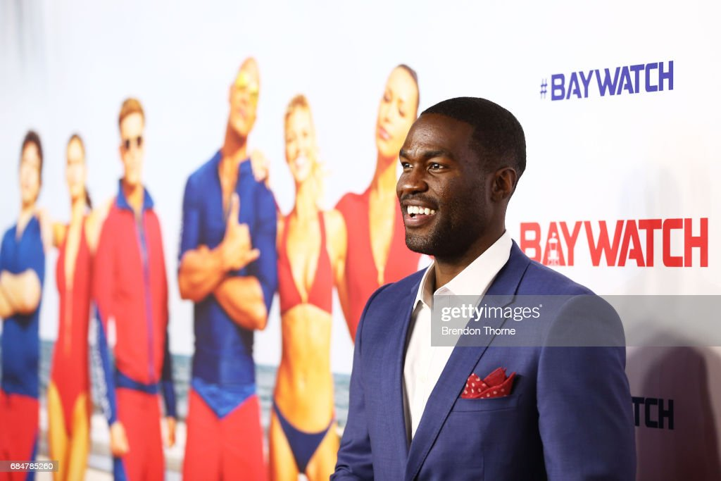 Yahya Abdul-Mateen attends the Australian premiere of 'Baywatch' at Hoyts EQ on May 18, 2017 in Sydney, Australia.
